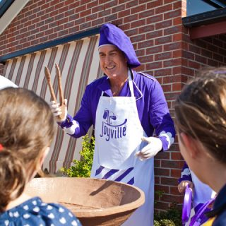 Branded Aprons For Cadbury Joville Activation