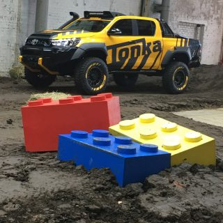 Giant Lego Blocks for Toyota Event