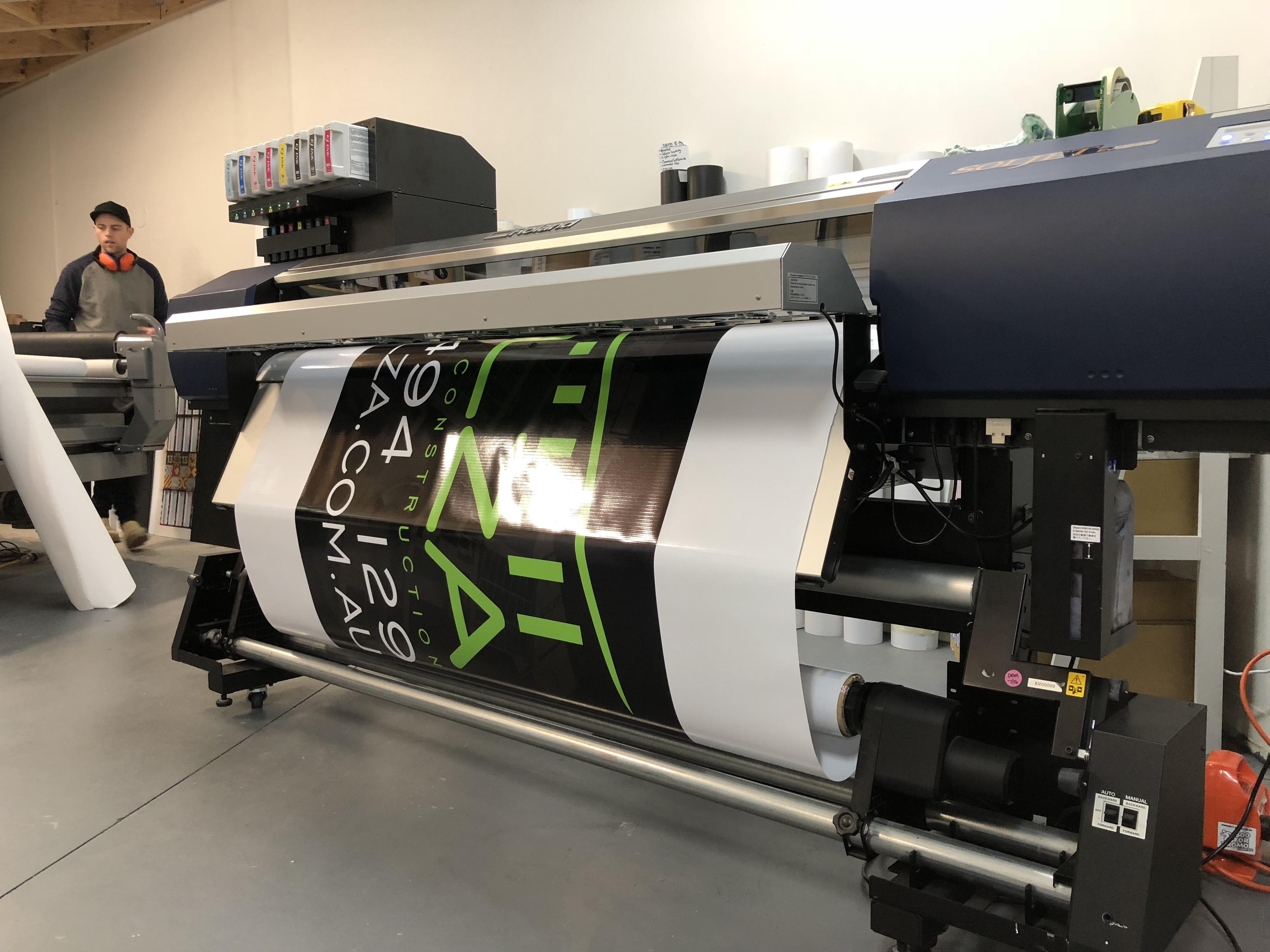 Roland Wide Format Printer