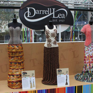 Dresses we made for Darrell Lee that were featured during fashion week in Melbourne