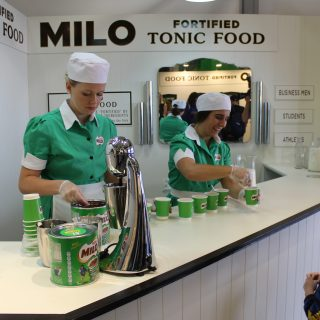 Custom Made Uniforms for Milo Activation at the Sydney Royal Easter Show